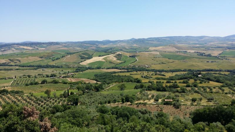 view of orcia valley