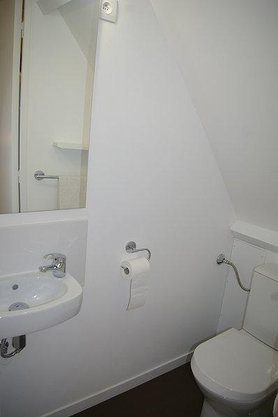 The toilets of the mezzanine