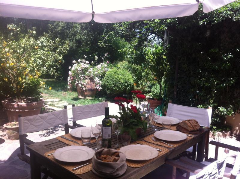 Pranzi al fresco in giardino