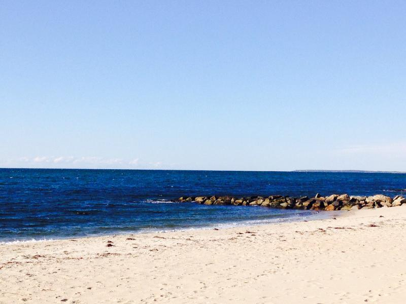 Beautiful Glendon Beach is less than 100 yds away.  Approximately one minute walk!