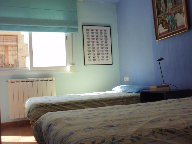 Blauwe slaapkamer/Blue bedroom