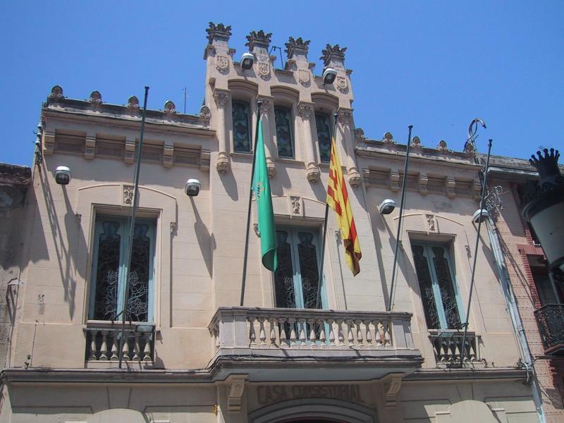 Canet de Mar: raadhuis/ town hall