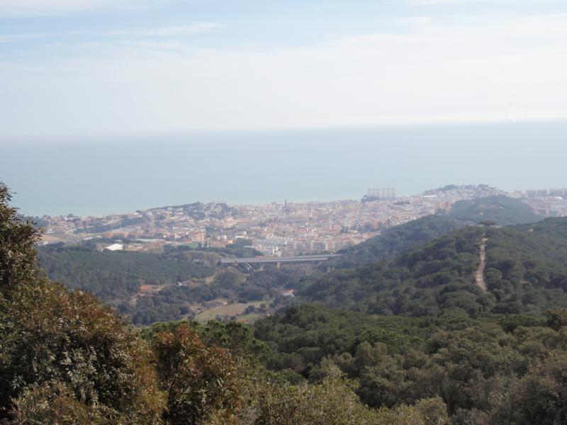 Wandelen/Walk rond/around Canet de Mar&Costa de Barcelona vanaf/from 'La Creu'