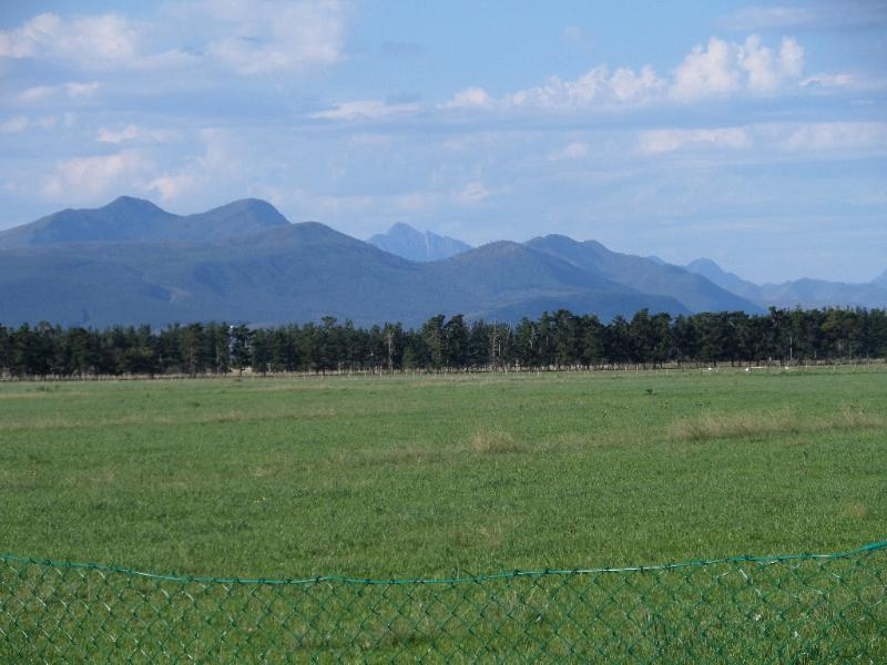 A small part of the Outeniqua Mountain Range