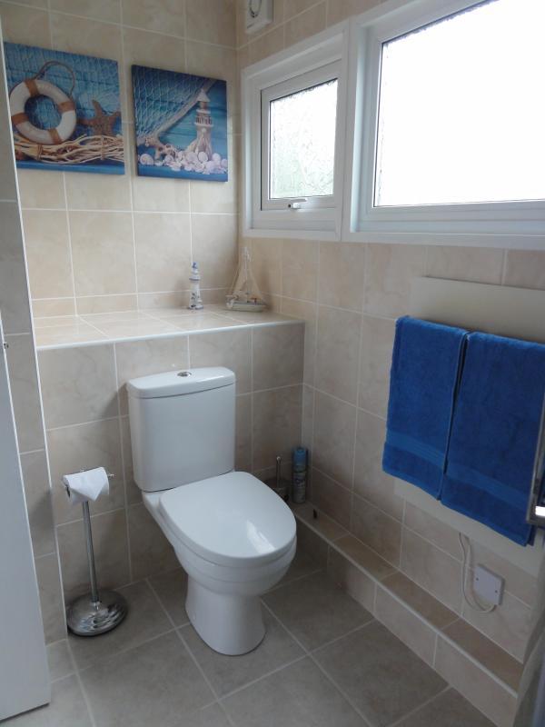 Heated towel rail - Hand towel, pool towels & hand wash provided