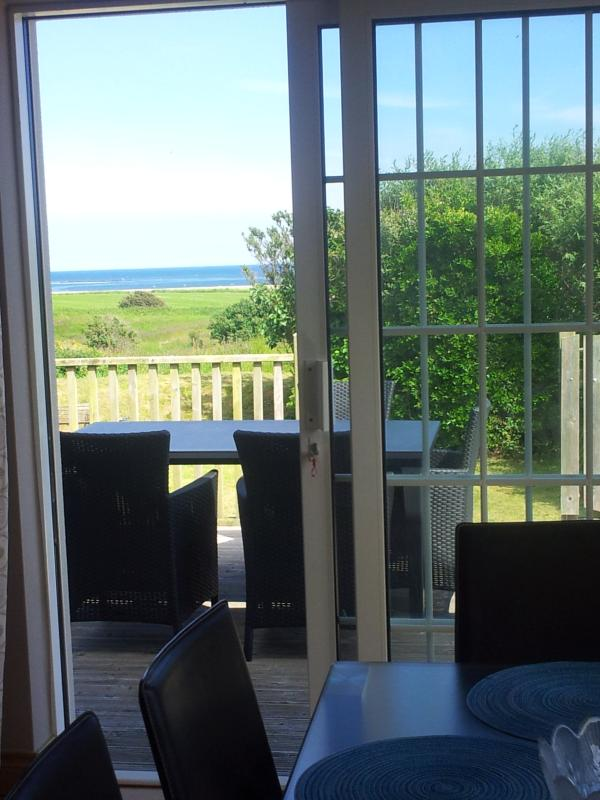 View from dining area towards Carnsore Point