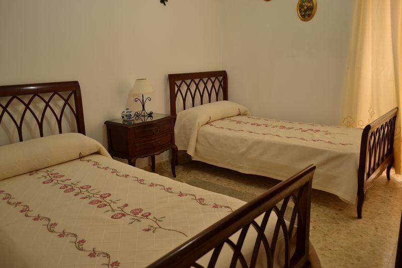 Habitación con dos camas gemelas