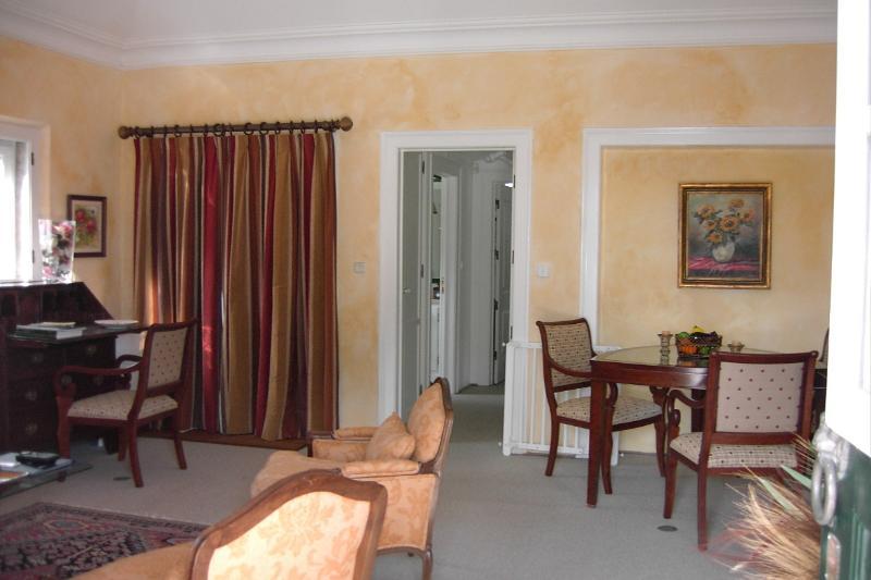 Salle de séjour avec chauffage