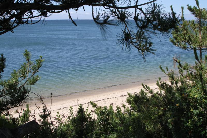 Gorgeous private beach.