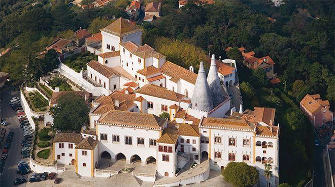 Ville de Sintra et Palais de Sintra
