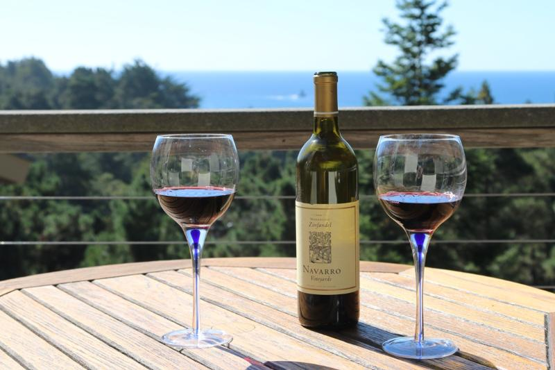 Enjoy a glass of wine and relax after a day of exploring.
