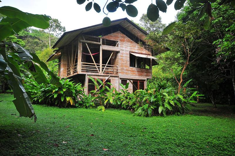Casa Pina- on beach front property in the rainforest