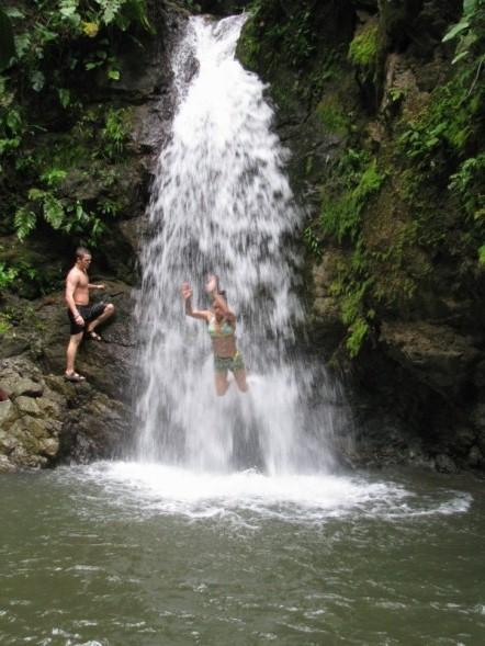 fun at the swiming hole