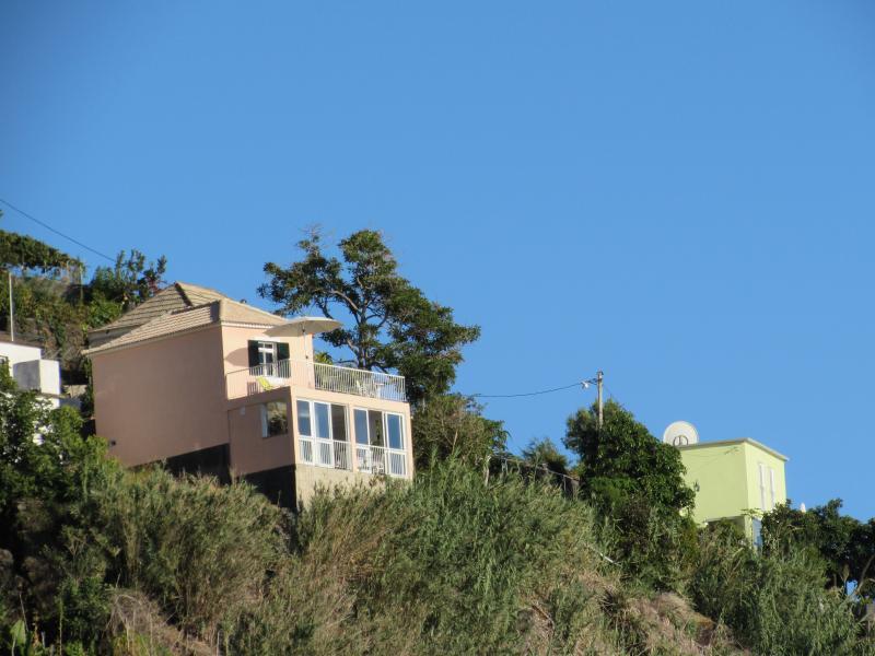 Vista das Nelson's Houses
