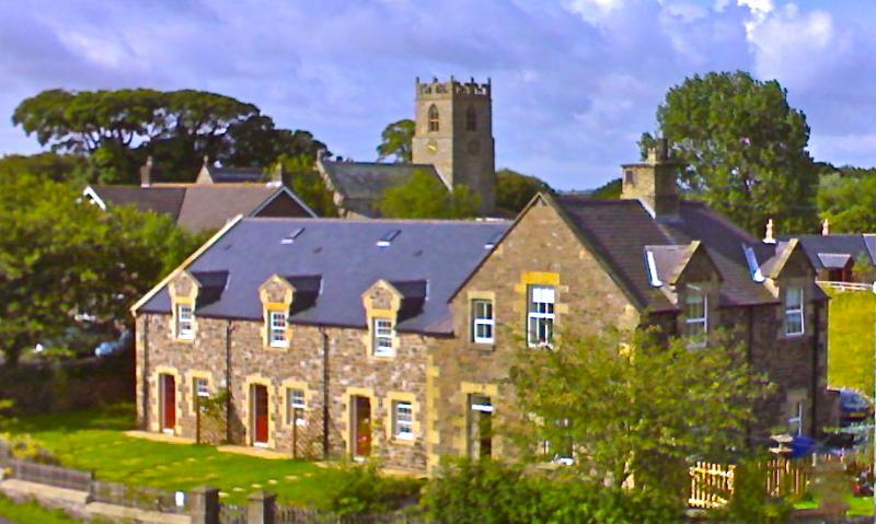 Police House Cottages, Ferienwohnung in Alnwick