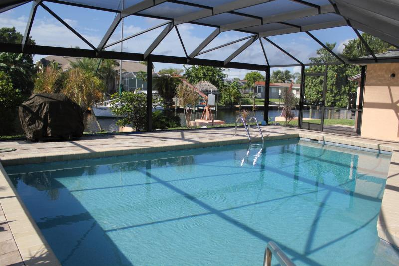 southern exposure pool + solar panels + pool heater