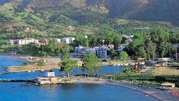 near by village