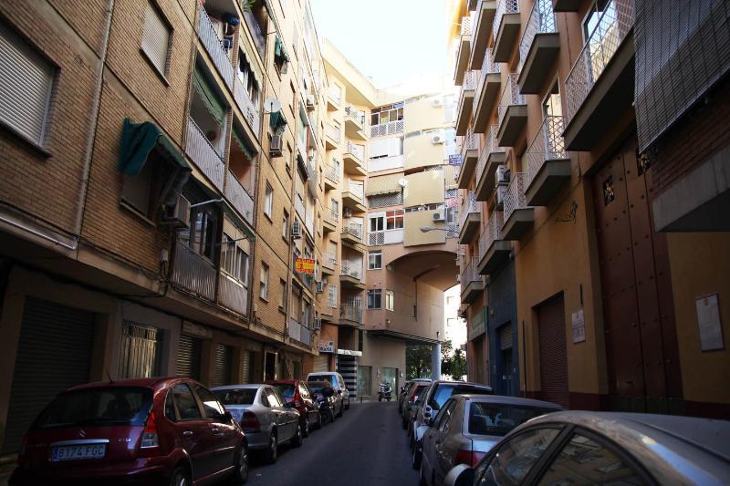 Calle Músico José Ayala Cantó, en donde está situado el piso