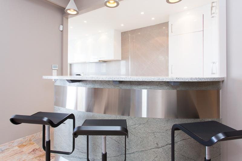 Dinning counter by the kitchen