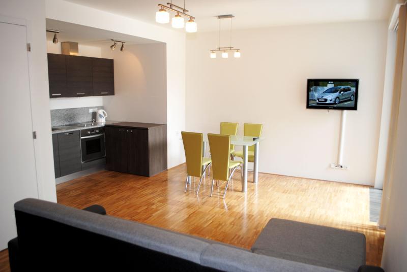 Elite balcony Ruterra Loft with garage, vacation rental in Prague