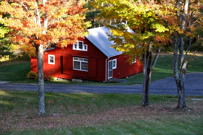Garden Cottage Nestled Within The Maple Trees