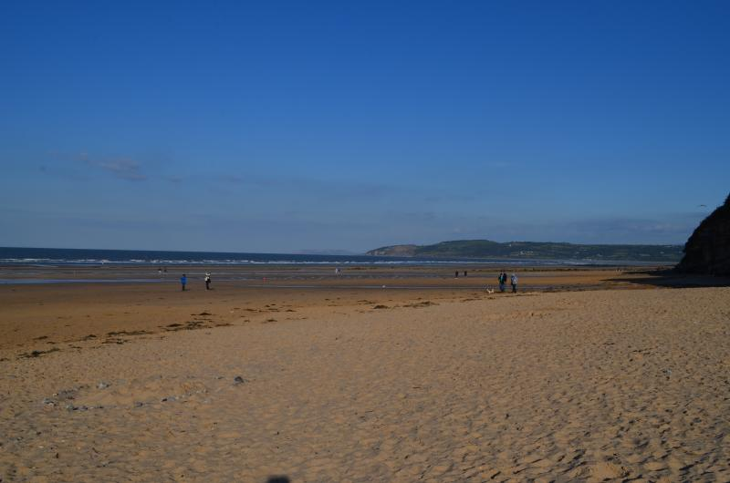 Benllech Beach in August