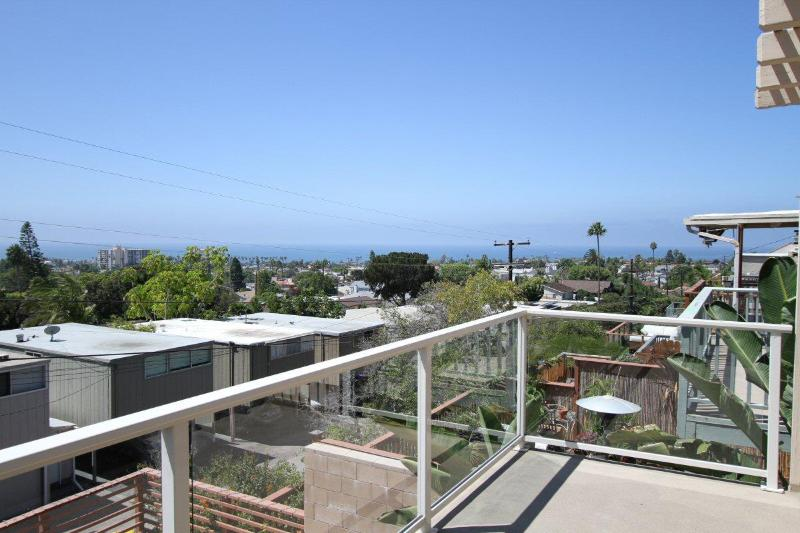 Amazing western view of the Pacific Ocean from our 250 sq ft balcony