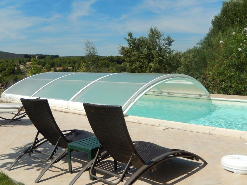 Relax by your own pool