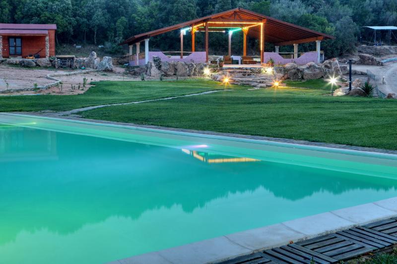 Magic evening in the pool!