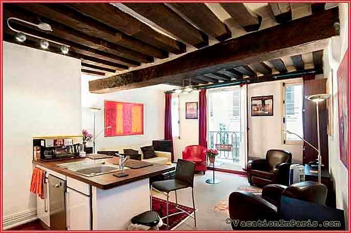 Vieux Paris One Bedroom - ID# 79, holiday rental in Saint-Denis