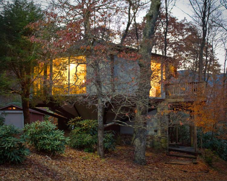 Een andere weergave van de boom-huis