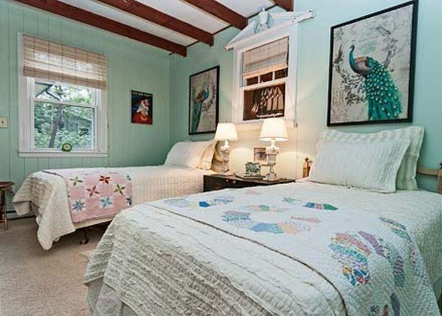 Guest Bedroom with Two Twins