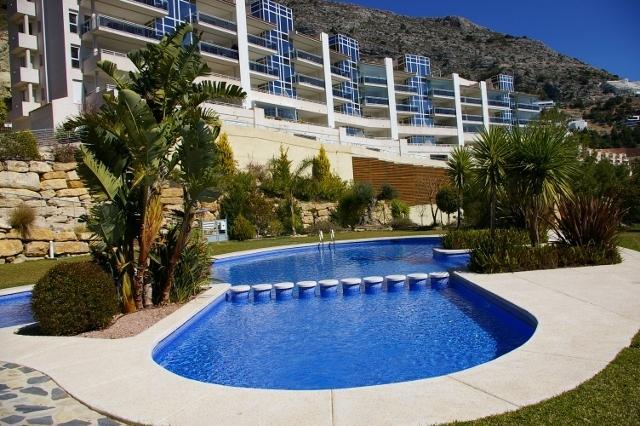 The excellent complex of Jardines de Altea Hills.