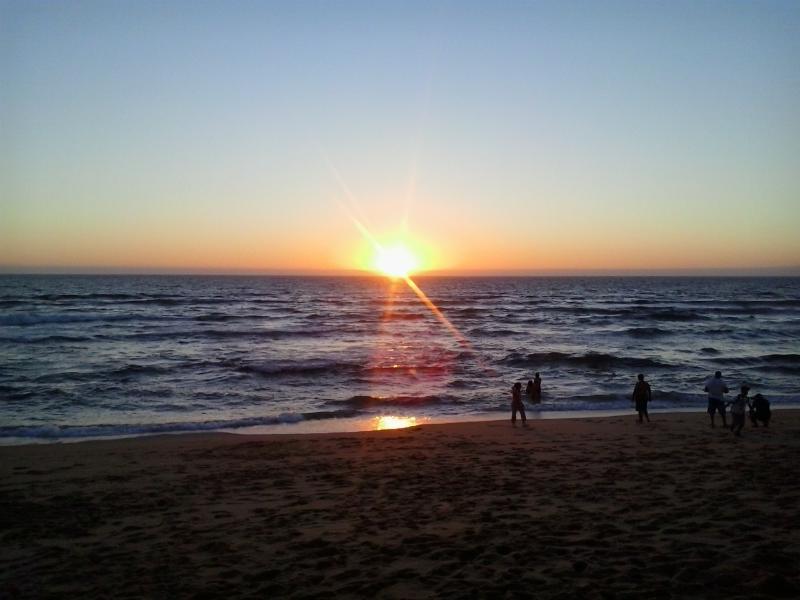 Sunset praia das Bicas