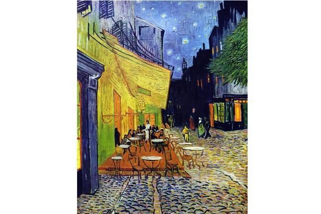 Cafe Van Gogh auf dem Place du Forum gemalt von Van Gogh