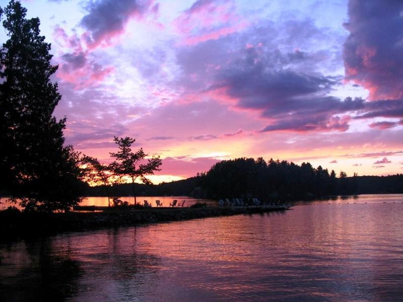 Clyffe House: A stunning sunset taken from the beach