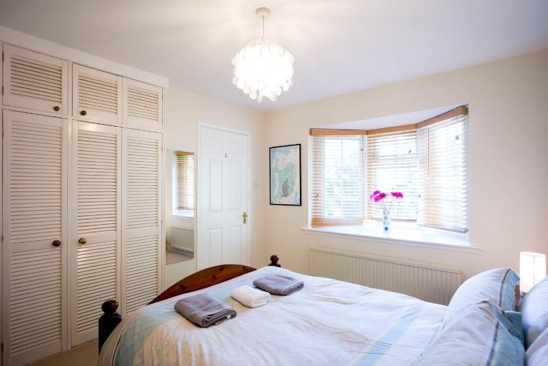 Ground floor double room with en suite shower.