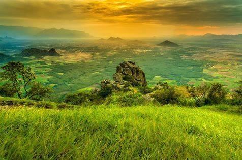 Ramakkalmedu view