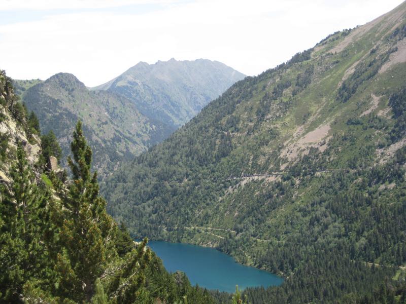 Lago en el Pirineo de Haut