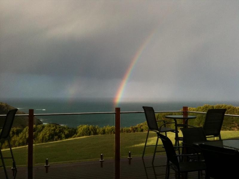 The end of the rainbow is on King Island Scenic Retreat!