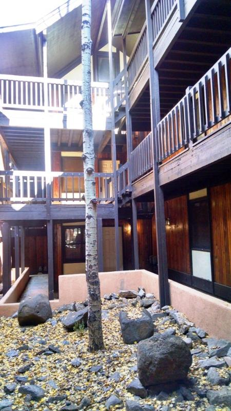 Courtyard area of Snowfire B building
