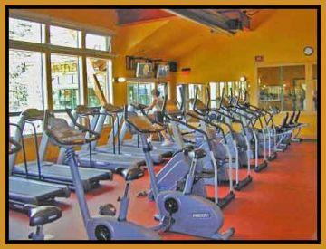 Guest passes to the fitness center, open year round