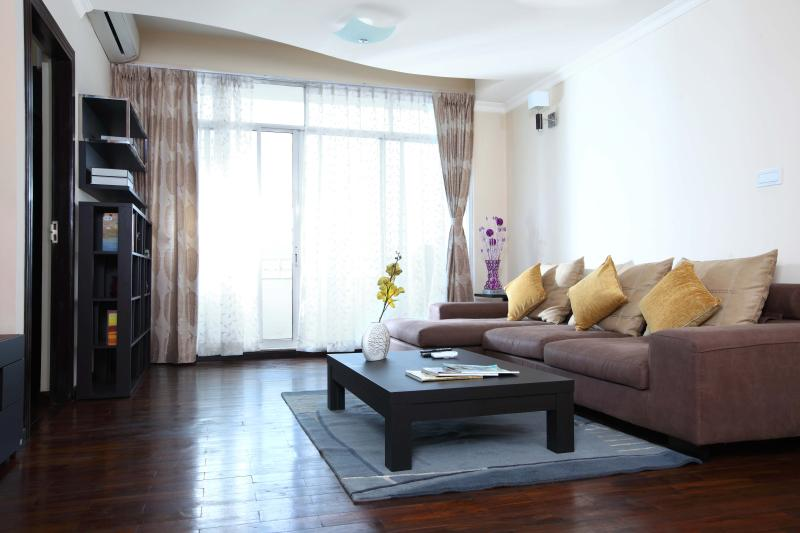 Living area, Deluxe apartment