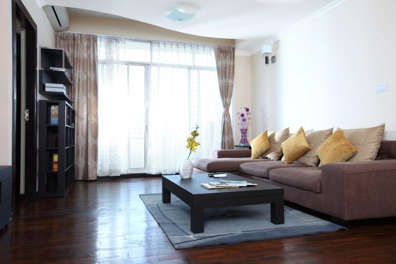 Zona soggiorno, Appartamento Deluxe