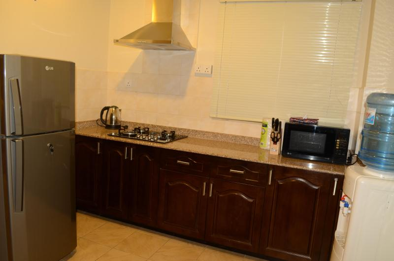 Fully equipped kitchen, Standard apartment