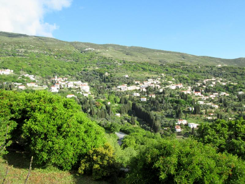 View to Apoikia village