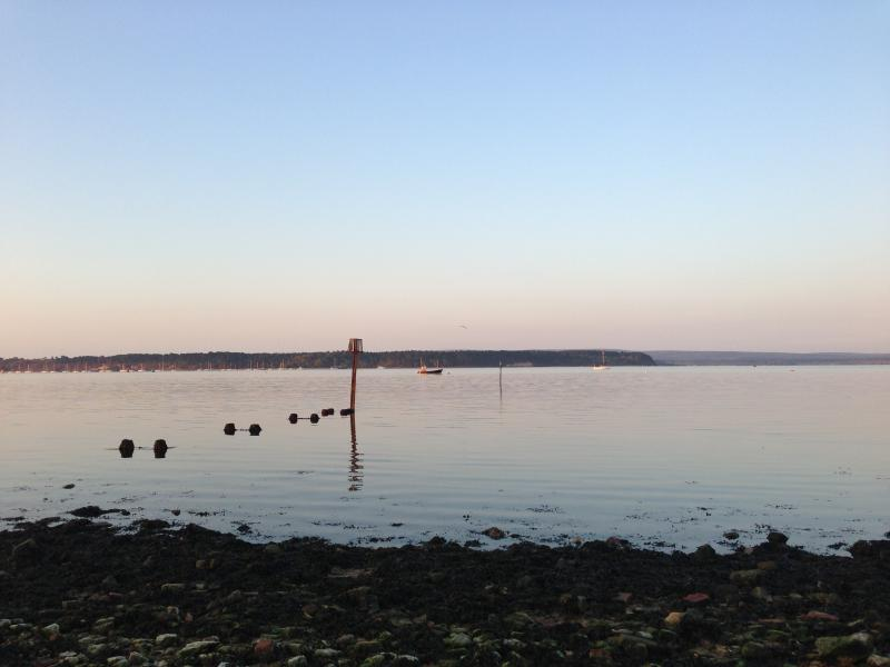Harbour view to Brownsea Island from the Heritage Trail
