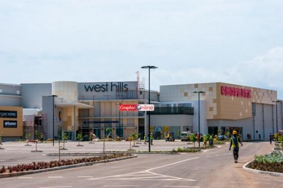 the new shopping Mall; West Hills, just near our area (10 min drive)