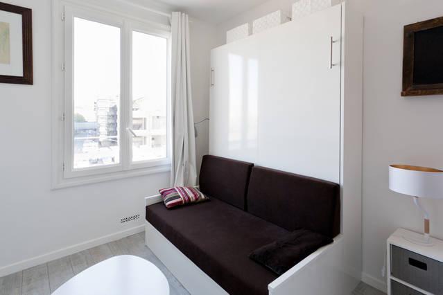 Canapé armoire-lit grand confort