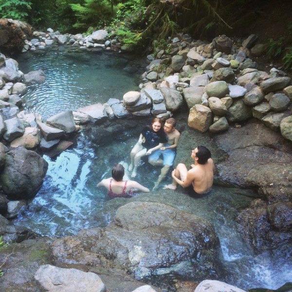 Se détendre à proximité Terwilliger Hot Springs